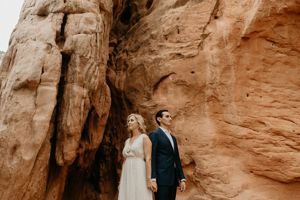 Garden of the Gods Wedding Ceremony Site