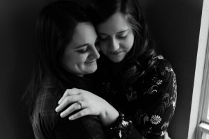 Romantic LGBTQ In Home Engagement Session