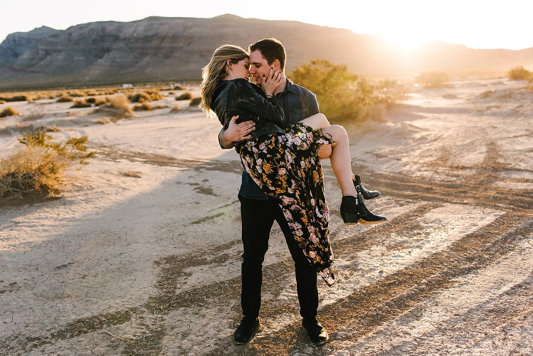 Jean Dry Lakebed Engagement Session