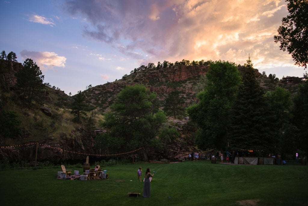 Sunset Lyons Colorado