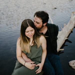 Colorado Lakeside Engagement Photos