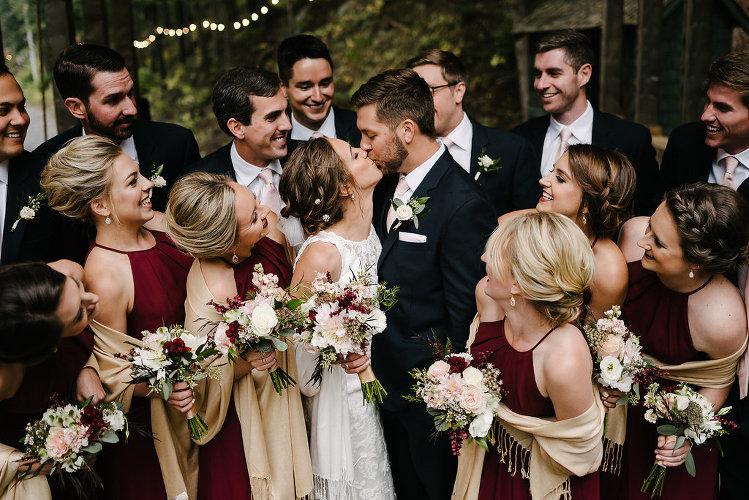 Rainy Colorado Wedding