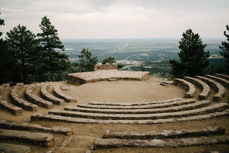 Sunrise Amphitheater Wedding
