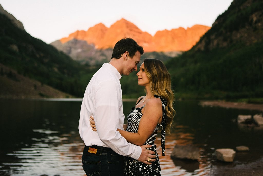 Maroon Bells Engagement Session
