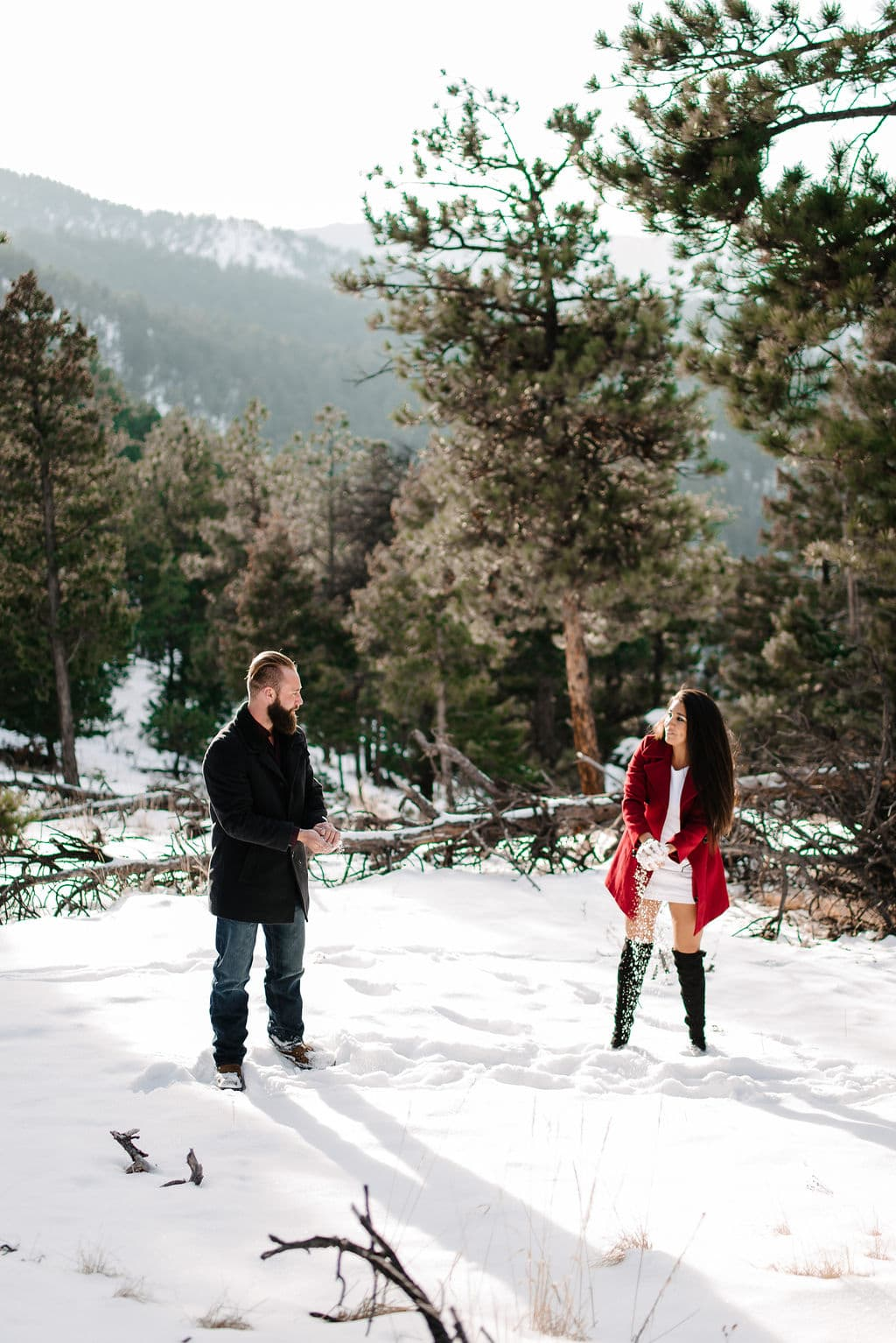Mountain Top Engagement Session