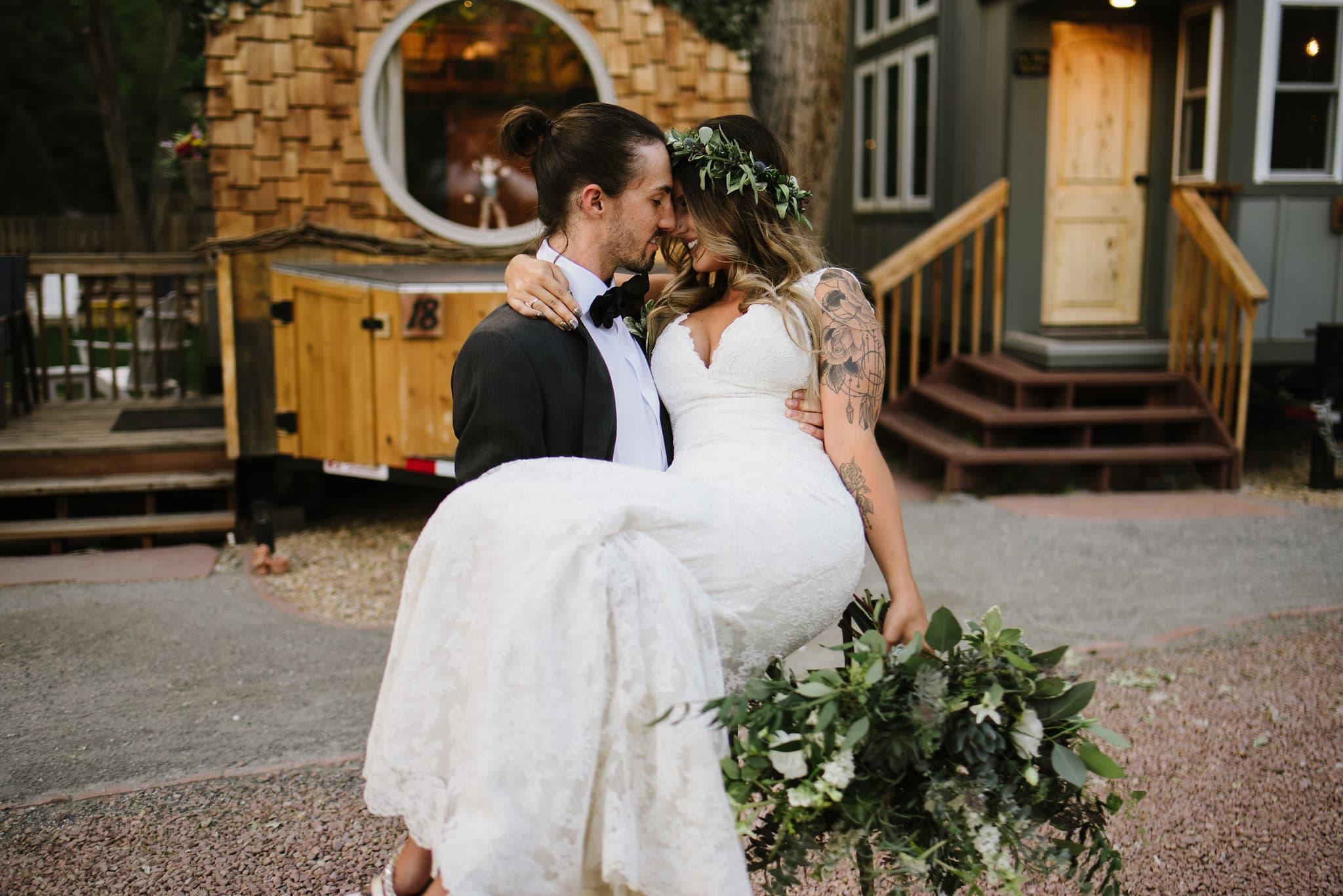 Best Colorado Wedding Venue River Bend Lyons Colorado