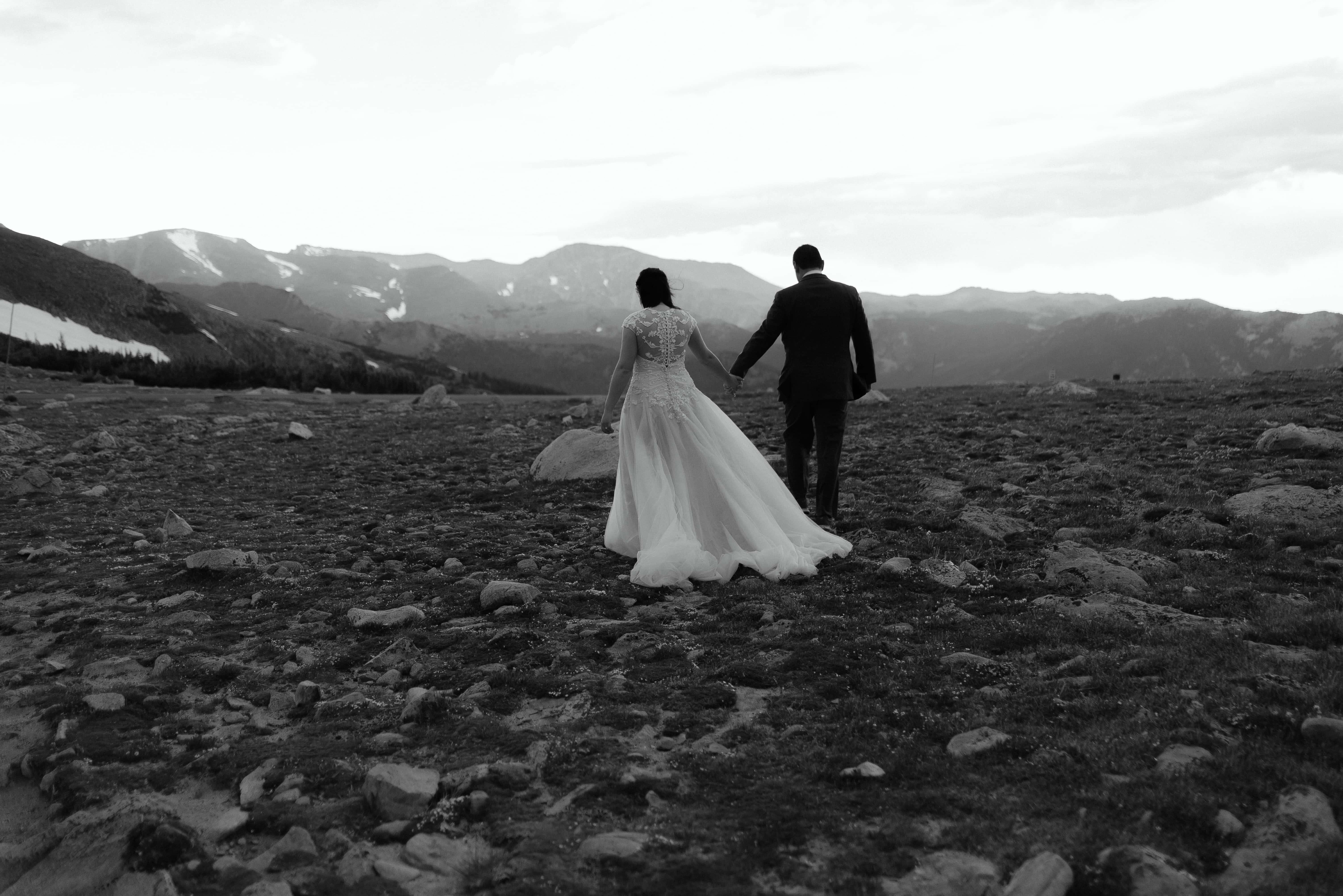 High Altitude Wedding