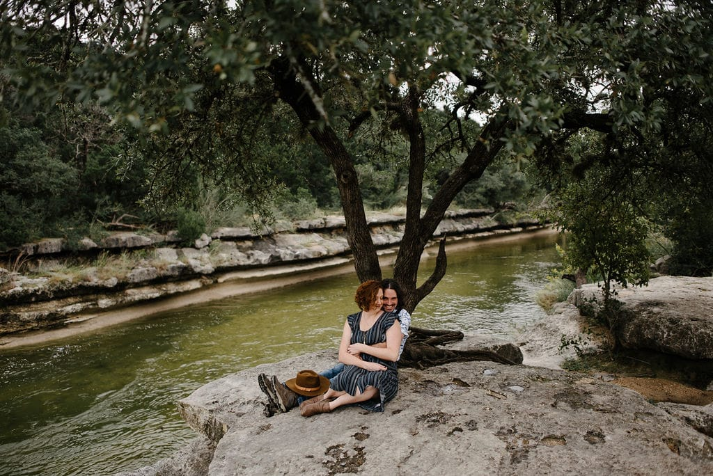 Austin Greenbelt Engagement Session