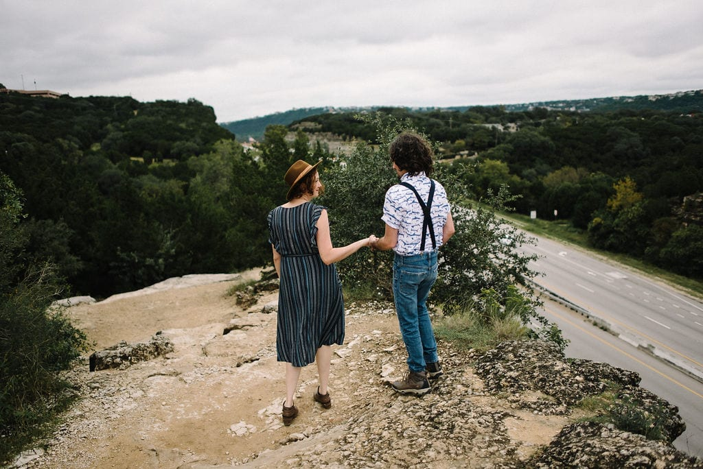 Engagement Session at the Pennybacker Bridge