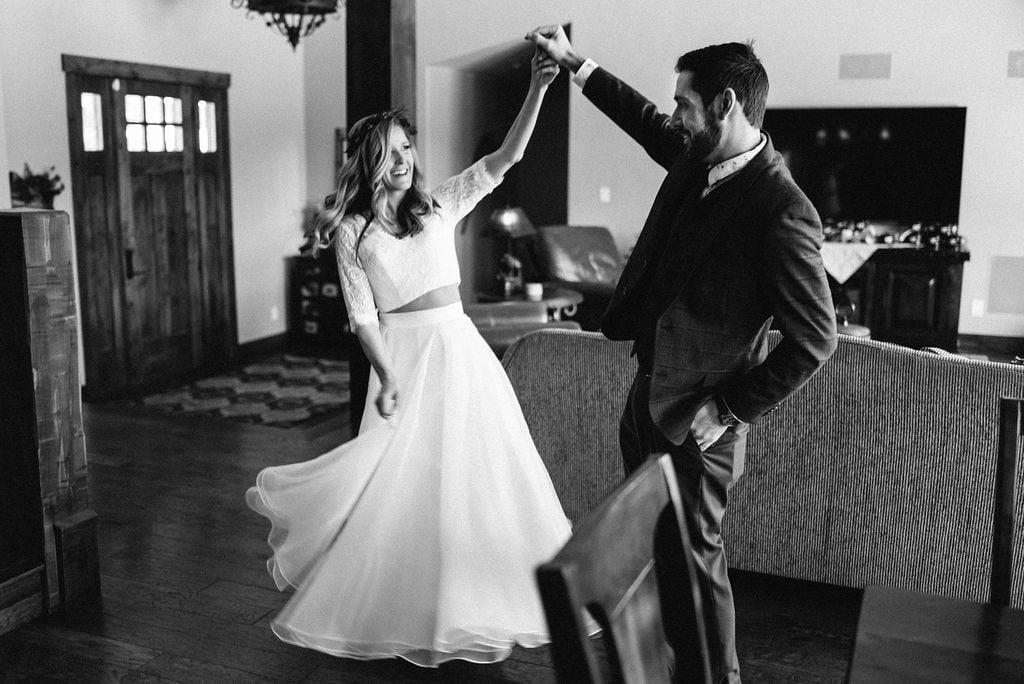 Airbnb wedding in Breckenridge