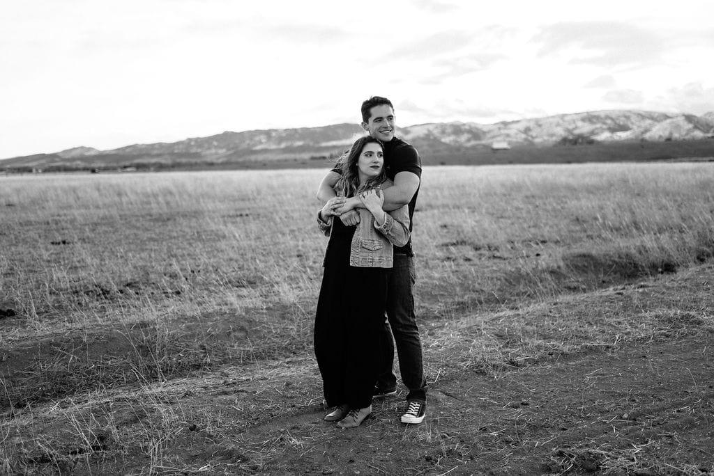 Colorado engagement session. Couples Portraits