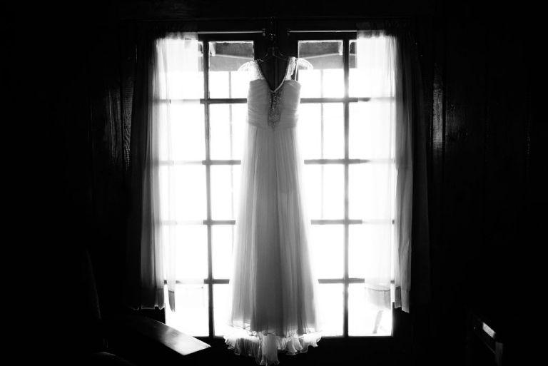 Hanging Wedding Dress, Wedding Dress Photo