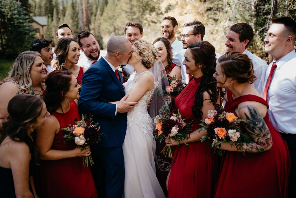 Breckenridge Wedding Bridal Party