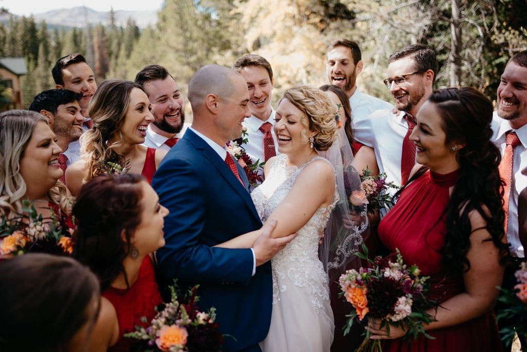 Bridal Party Photos in Breckenridge