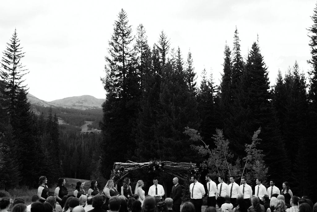 Moody Breckenridge wedding ceremony
