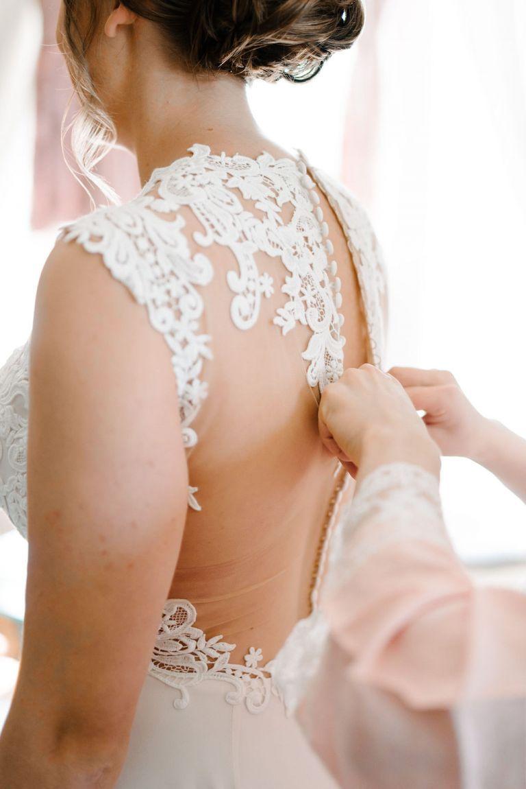 button back dresses