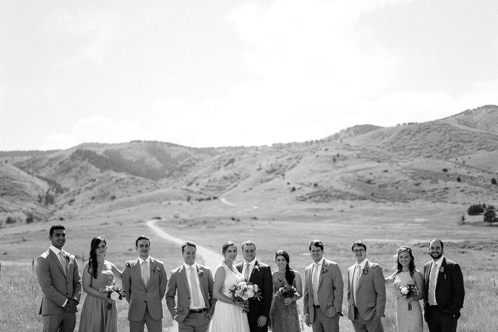 Bridal Party Photos at Manor House