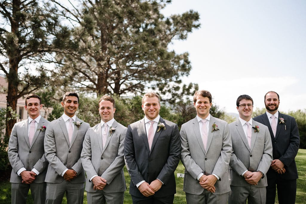 Classic Groomsmen Photos