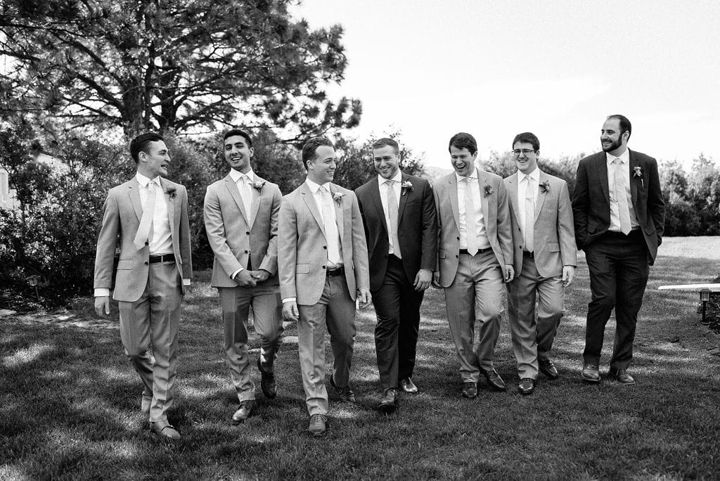 Groomsmen Portraits in Colorado