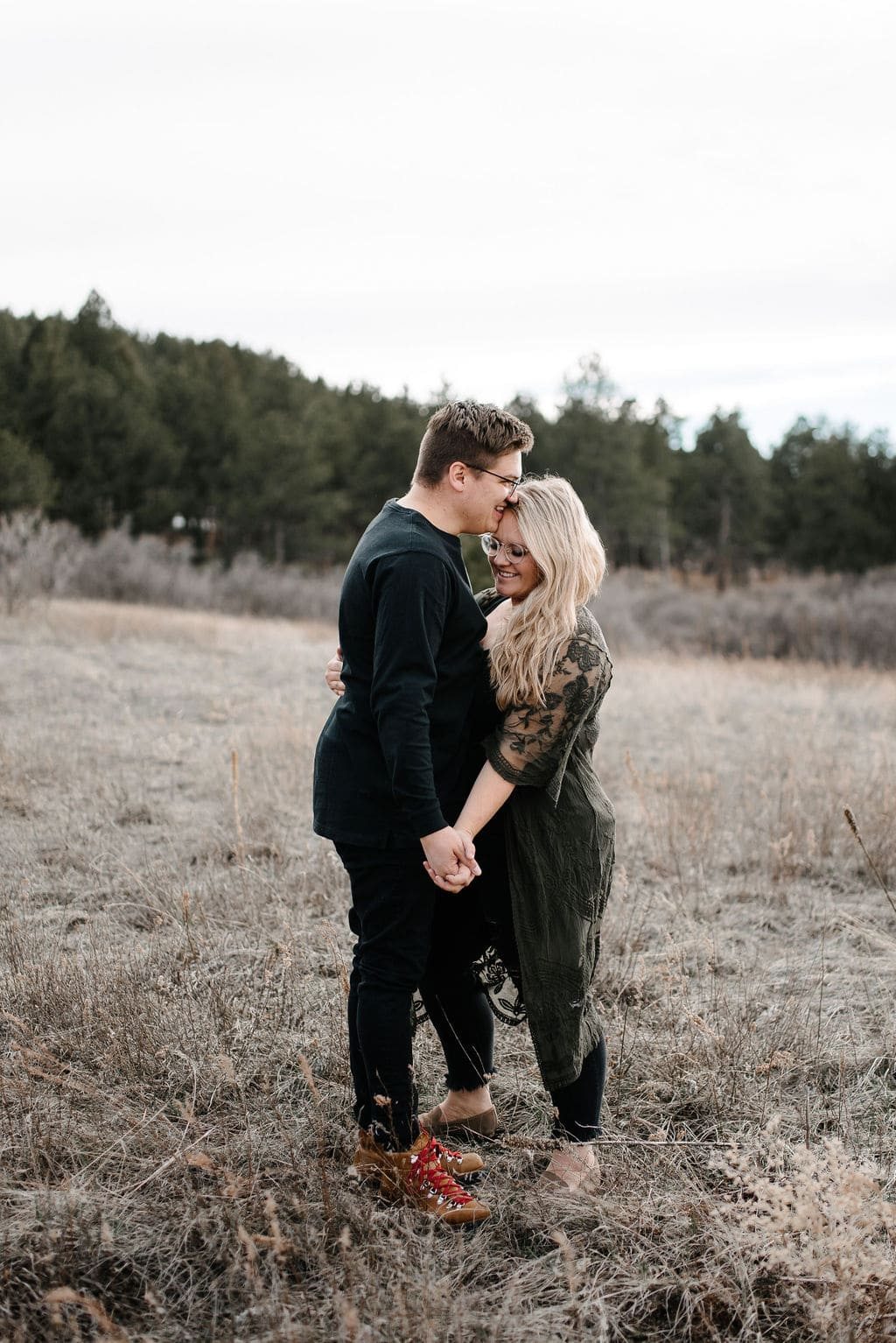 Larkspur Colorado Couples Session
