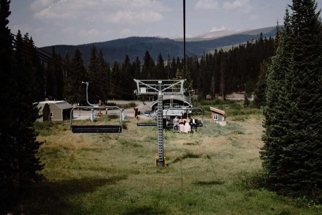 Ski Lift in Winter Park Colorado