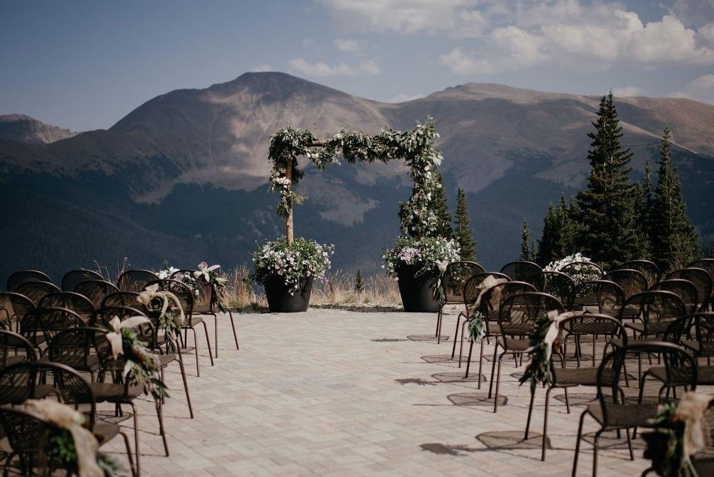 Lunch Rock Winter Park Wedding Ceremony