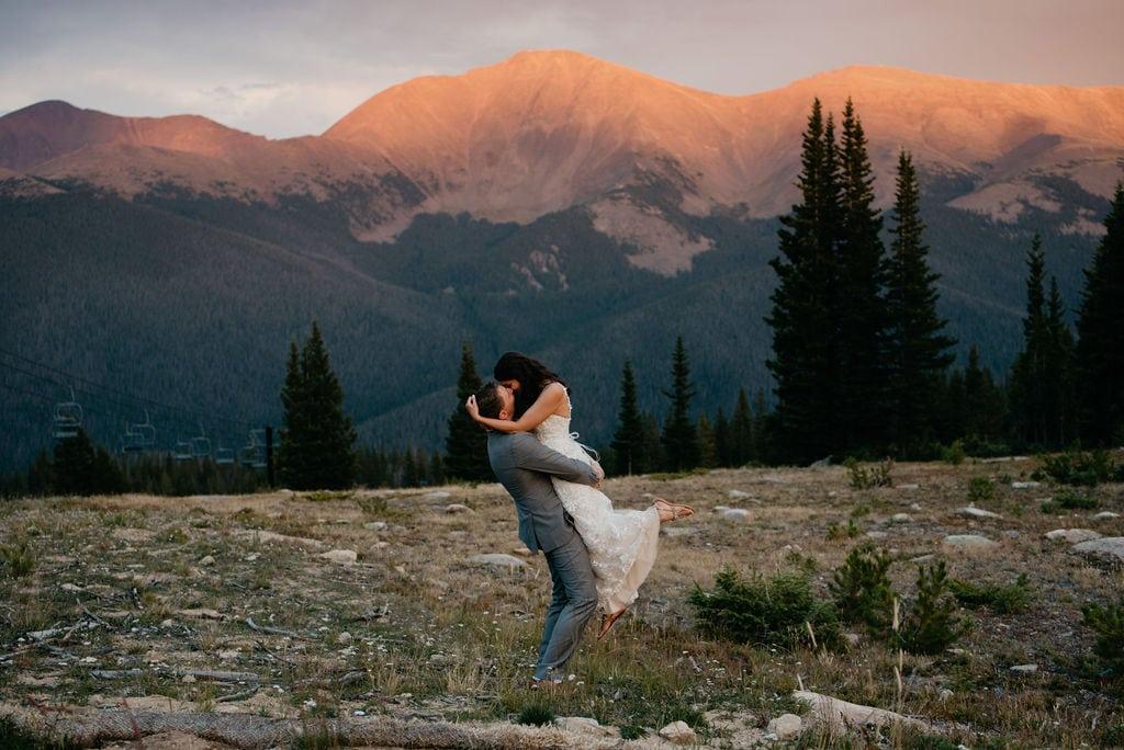Best Colorado Wedding Venue in Winter Park Colorado
