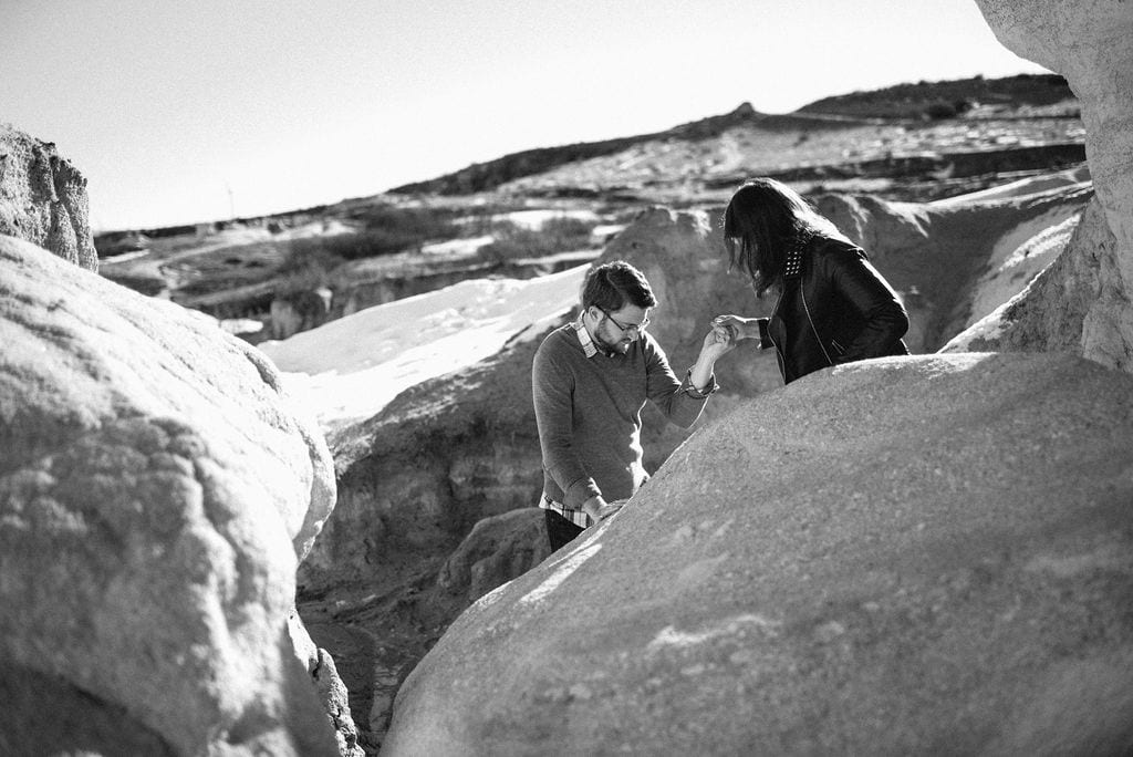 hiking the paint mines