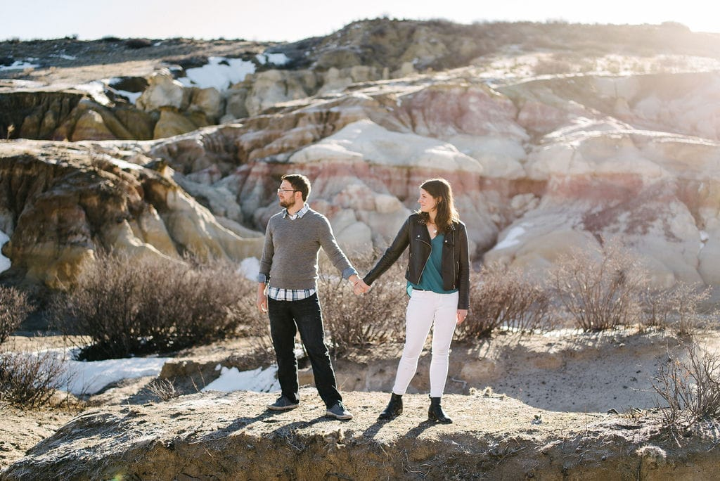 Paint Mines in Colorado