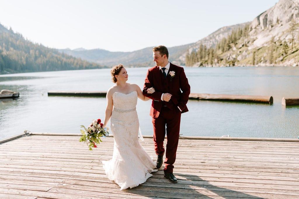 Echo Lake Wedding California
