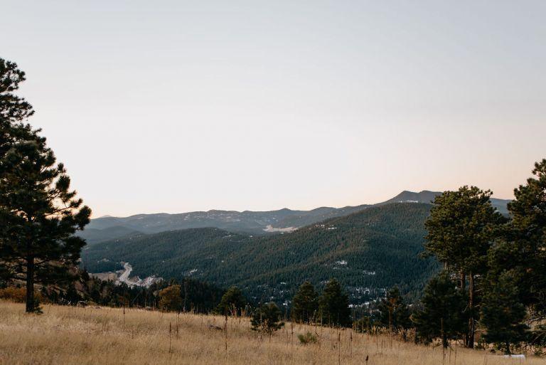 Mt. Falcon Park at Sunrise