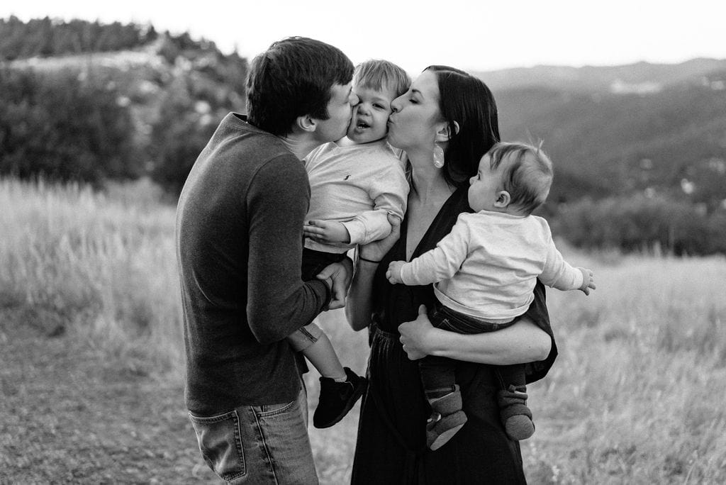 Playful family photos