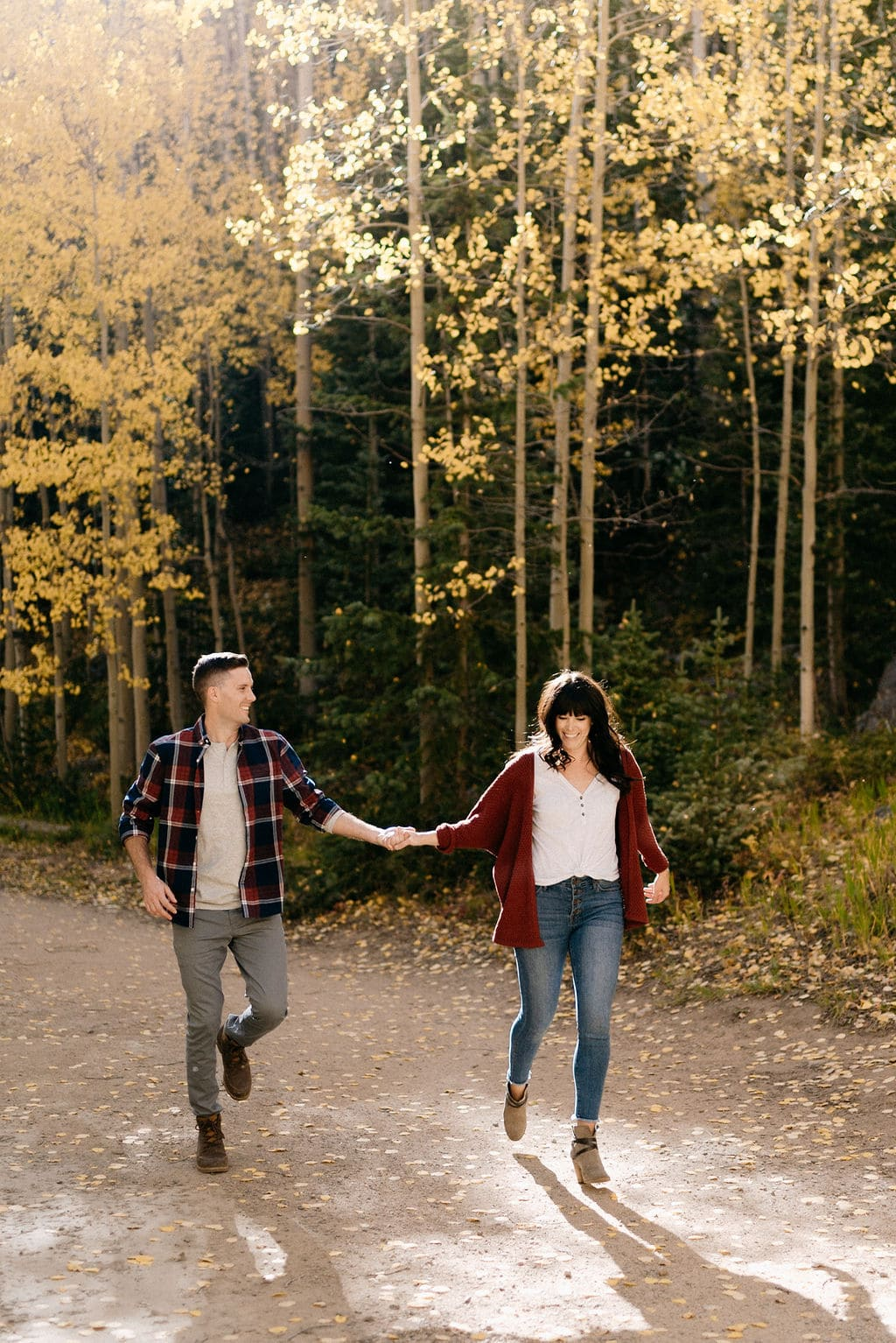 Guanella Pass Engagement Session in Colorado