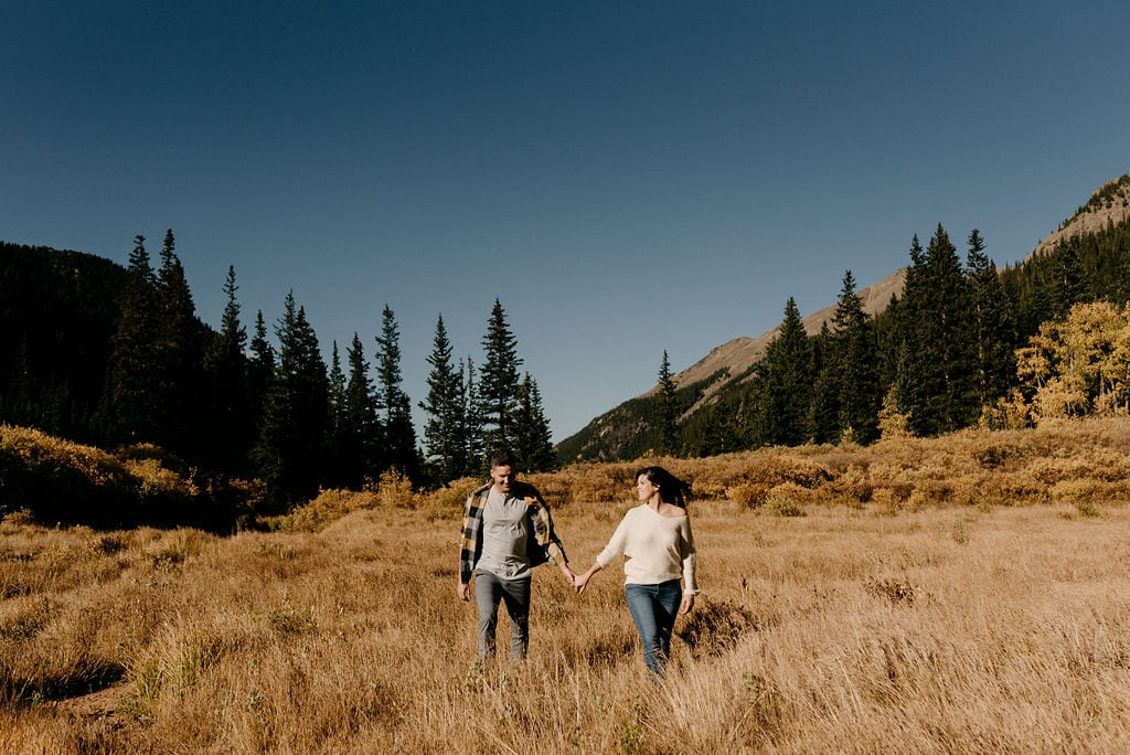 Guanella Pass Engagement Session
