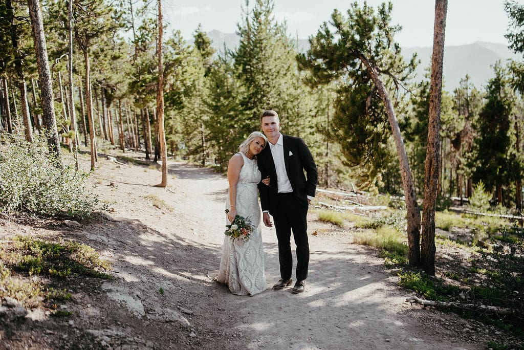 sapphire point wedding bride and groom