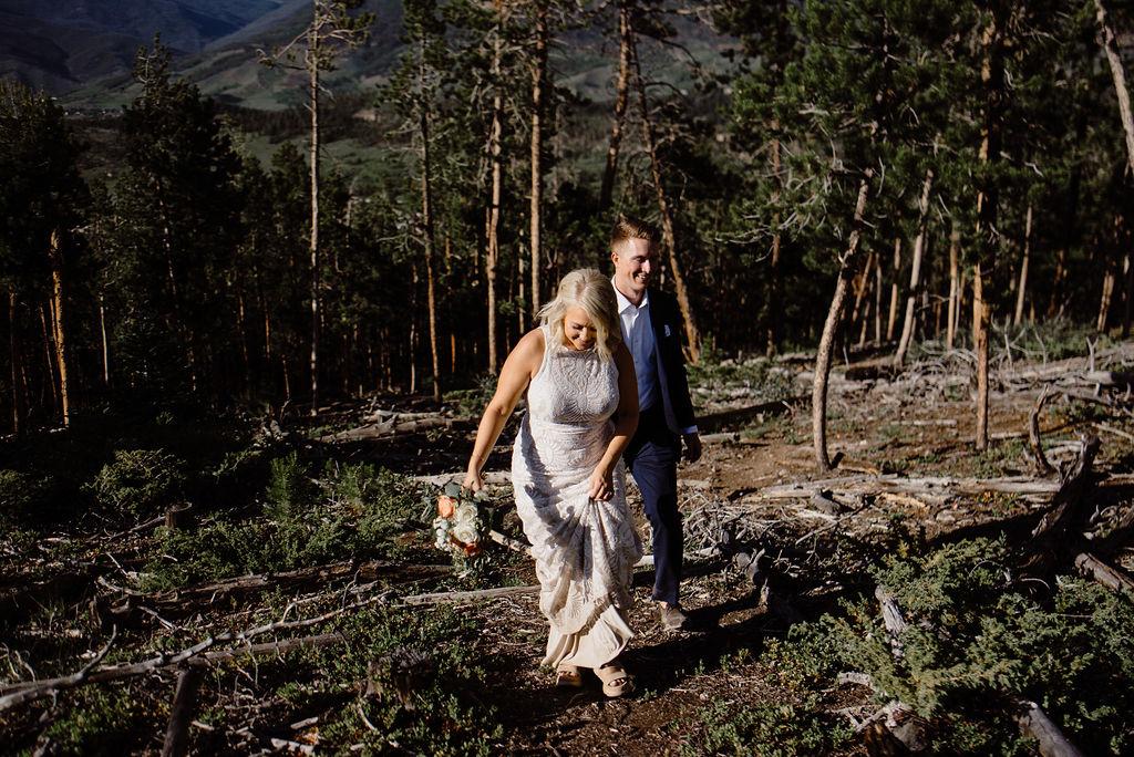 sapphire point wedding portraits