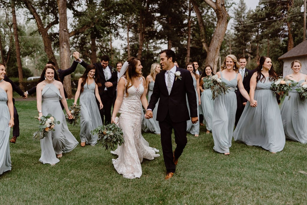 Bridal Party at Cheyenne Mountain