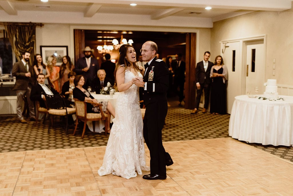 Father Daughter Dance at Cheyenne Mountain Country Club Reception