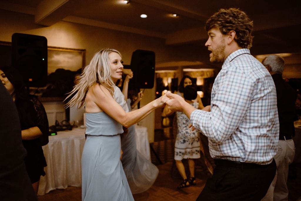 Cheyenne Mountain Country Club Wedding Reception Dancing