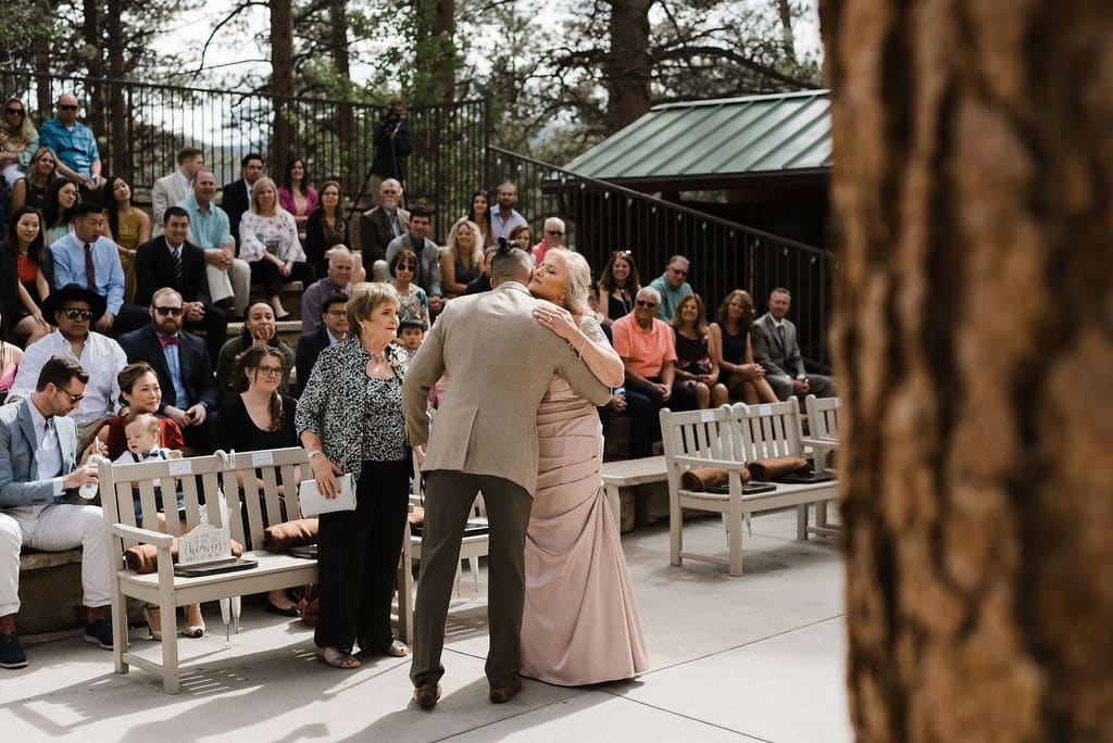 Wedding Ceremony At Della Terra in Estes Park, Colorado