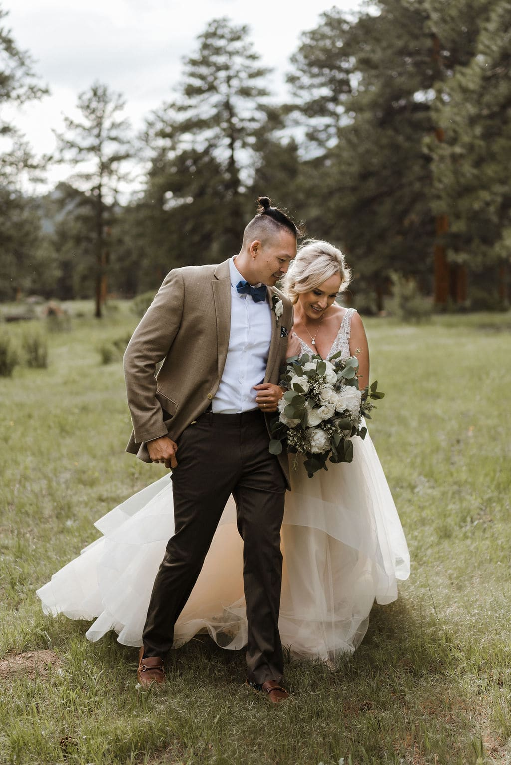 Della Terra Bride and Groom Portraits