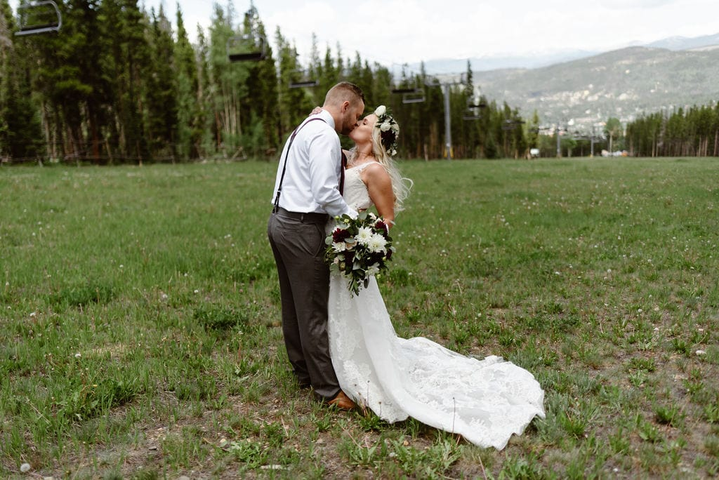 Ski Resort Weddings in Colorado
