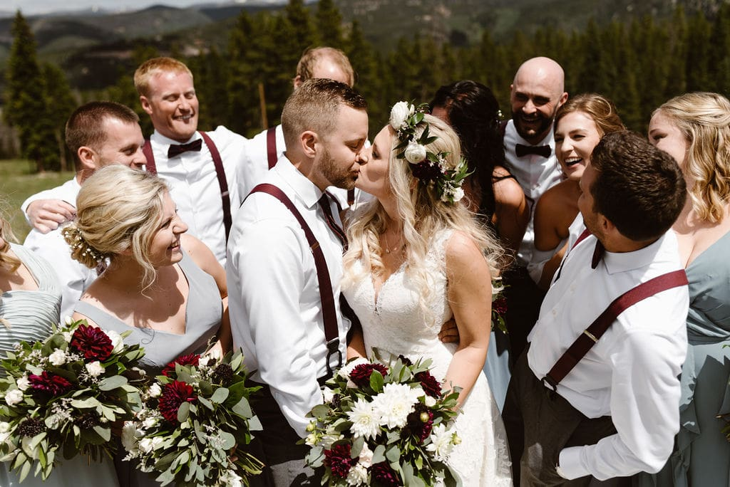 Bridal Party in Breckenridge Colorado