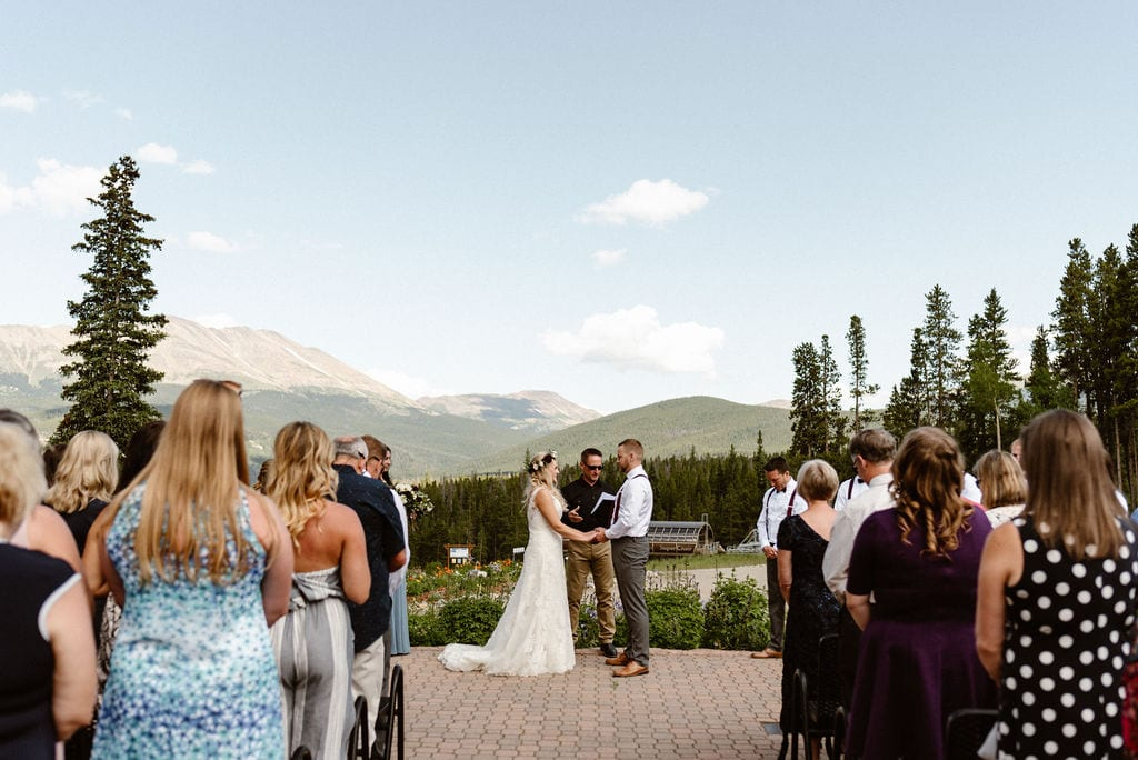 Ten Mile Station Wedding Ceremony