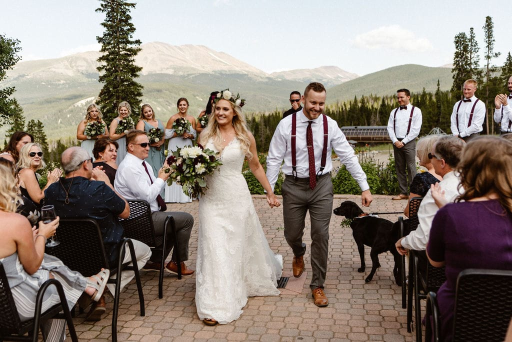 Ten Mile Station Wedding Ceremony Breckenridge