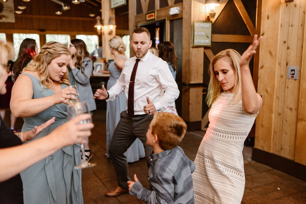 Ten Mile Station Wedding Reception
