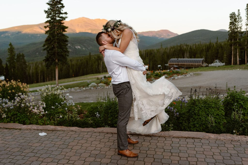 Breckenridge Wedding Venues Ten Mile Station View