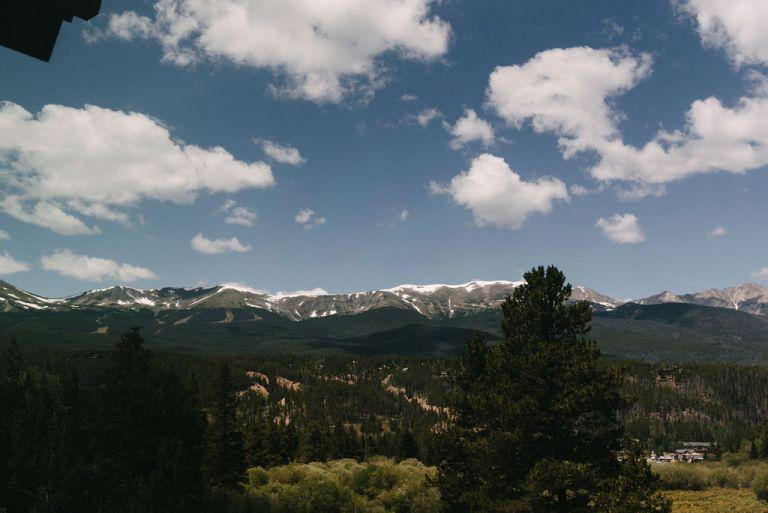 breckenridge mountains in colorado