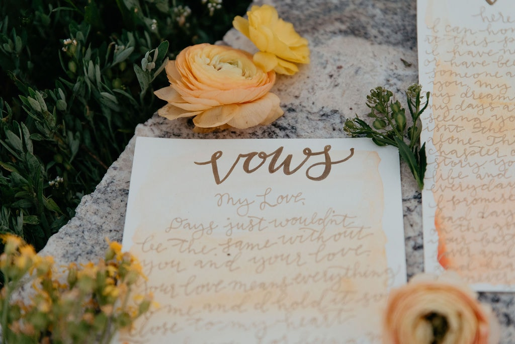 Wedding Flowers at Golden Colorado Elopement