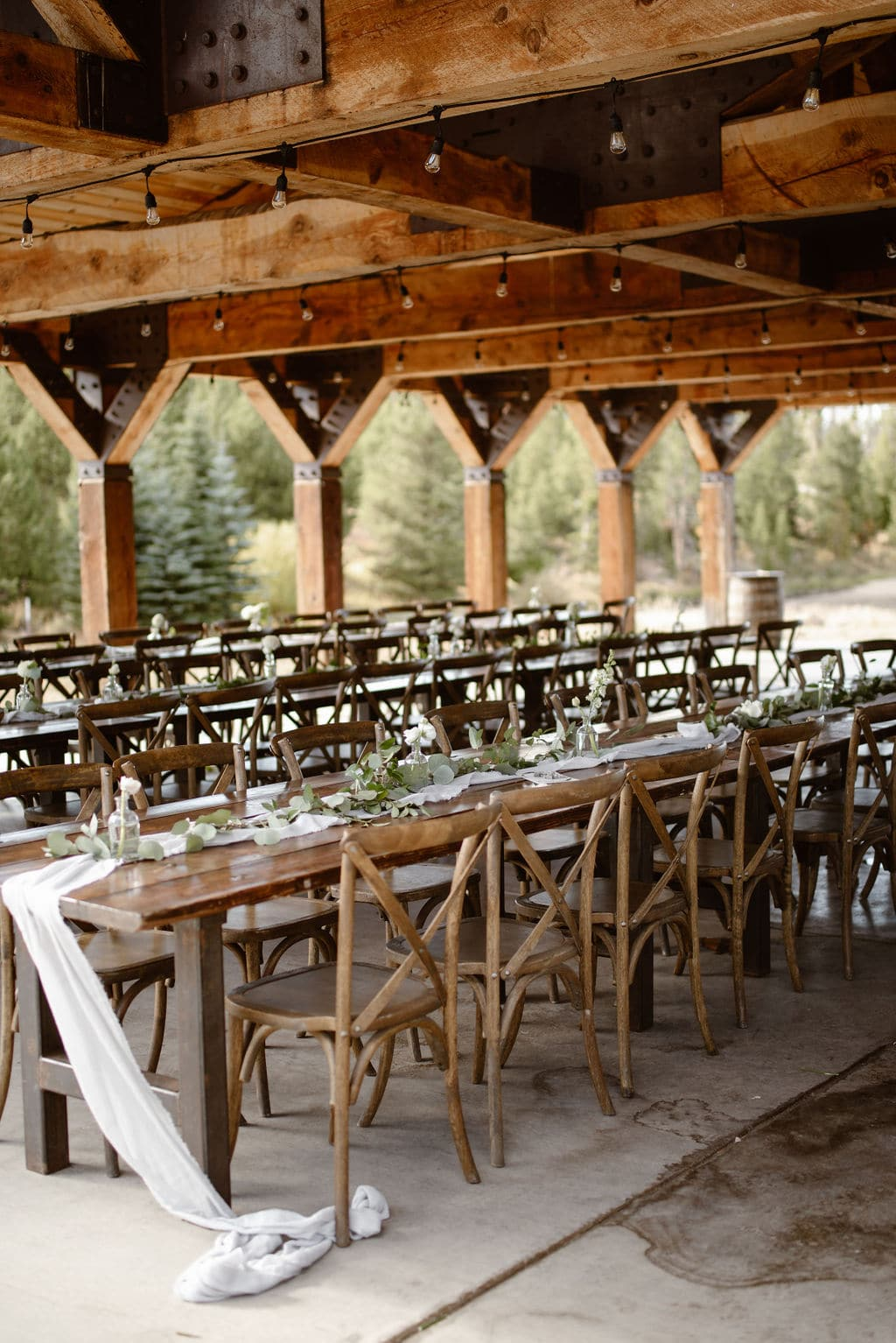 Windy Point Campground Wedding Reception